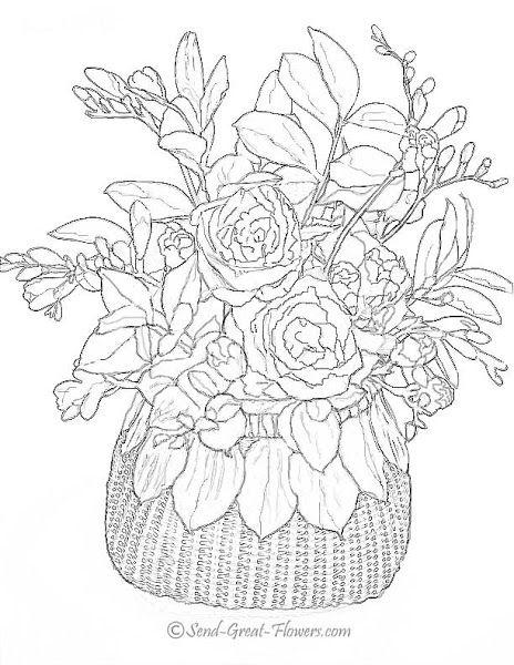 Printable Walt Disney Coloring Pages Advanced 2bflower 2bcoloring 2bpages 773367 Rose Coloring Pages Printable Flower Coloring Pages Detailed Coloring Pages