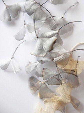 woven metal artworks by Michelle Mckinney
