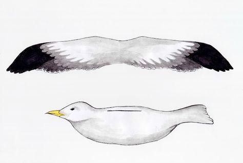 seagull mobile printable