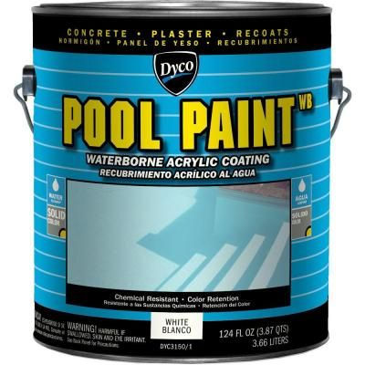 Insl X 1 Gal Semi Gloss Water Aquamarine Swimming Pool Paint Wr1019 The Home Depot Pool Paint Exterior Stain Exterior Paint