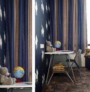 Bijzondere gordijnen - Banen in twee kleuren (Chintz) | Vadain ...