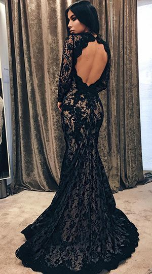 Pin On 2019 Black Prom Dress