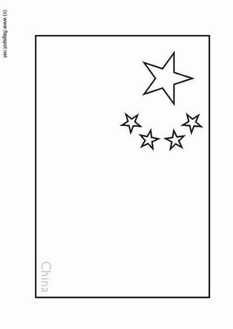 Chinese Flag Coloring Page Luxury Coloring Page Flag China Img