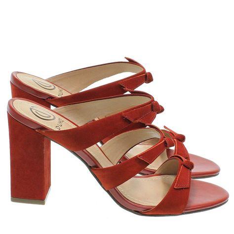 9d7162b65 Sandália Laços Telha 3874 Dumond para Moselle | Moselle sapatos finos  online! Moselle é feminina.