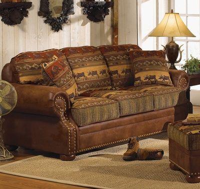 Wilderness Trails Sofa Cabin Furniture