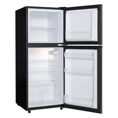 Danby 4 7 Cu Ft 2 Door Compact Refrigerator Black Stainless Hayneedle In 2020 Compact Refrigerator Mini Fridge With Freezer Glass Refrigerator