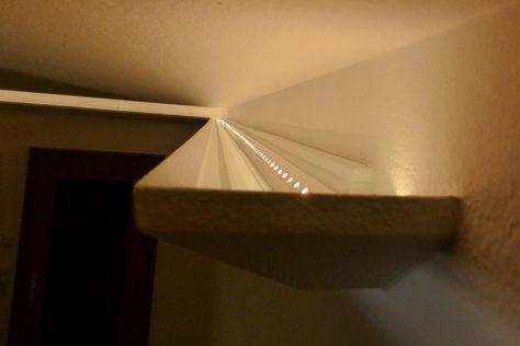 Led Beleuchtung Wohnzimmer Decke #1 LED Pinterest Basements - wohnzimmer led beleuchtung