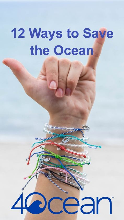 12 Ways to Save the Ocean