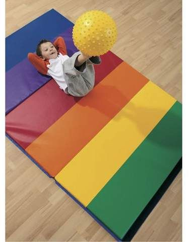 Wesco 4 X 6 Rainbow Exercise Mat With Images Mat Exercises Exercise Floor Mat Vinyl Floor Mat