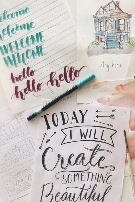 Want to learn to letter like a pro! Check out our signature collection of lettering classes. Let's get lettering y'all!  Learn to letter like a pro! Check out our signature collection of lettering classes. Let's get lettering y'all!