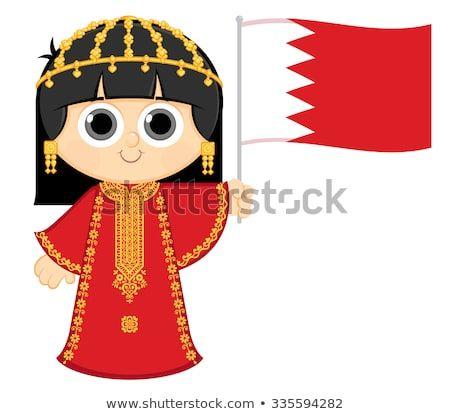 Descubra Essa E Milhoes De Outras Fotos Ilustracoes E Imagens Vetoriais Livres De Direitos Na Colecao D Qatar National Day Girl Clipart Easy Drawings For Kids