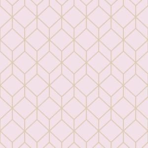 Graham Brown Myrtle Geo Pink Rose Gold Wallpaper Sample 10412294 The Home Depot In 2021 Rose Gold Wallpaper Gold Removable Wallpaper Gold Wallpaper