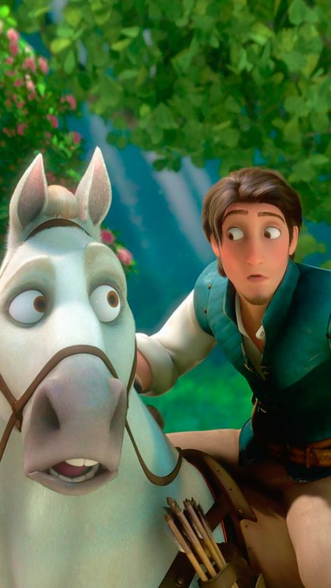 Eugene and Maximus, Tangled