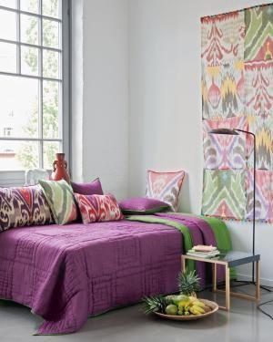 Wendequilt lila/grün | HOME: Purple * Green | Pinterest | Lila und Grün