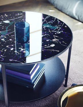 Pour Peindre Un Plateau De Table En Verre Vous Pouvez Utiliser Une Table Basse Vittsjo De Chez Ikea Nou Couchtisch Bemalen Ikea Couchtisch Ikea Mobel Bemalen
