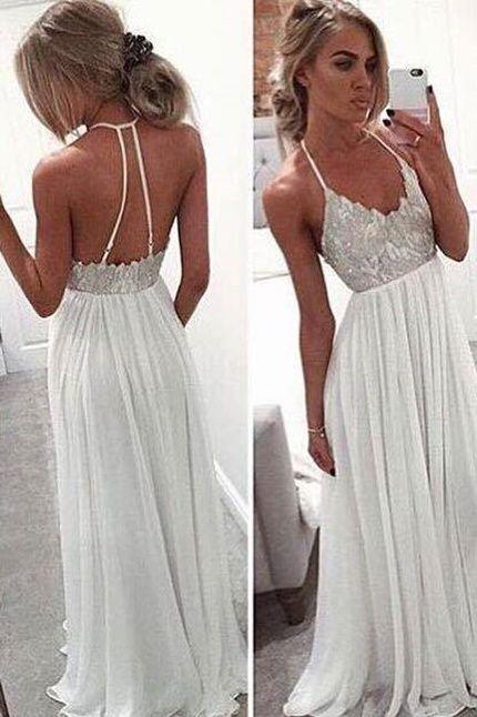 Köp Anastasia Maxi Dress hos Dennis Maglic   Vita