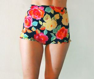 DIY Vintage Style High-Waisted Bikini - FREE Sewing Pattern and Tutorial