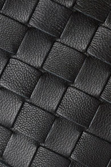 Bottega Veneta - Intrecciato Leather Cosmetics Case - Black