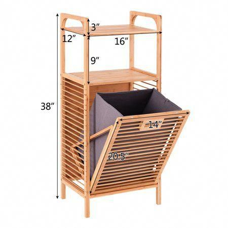 Home In 2020 Laundry Hamper Space Saving Storage Room Storage Diy