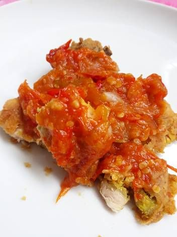 Resep Ayam Geprek Ungkep Sambal Tomat Ala Ibuk Agust7 Oleh Cory Rahmaniah Resep Resep Ayam Memasak Resep Masakan Indonesia
