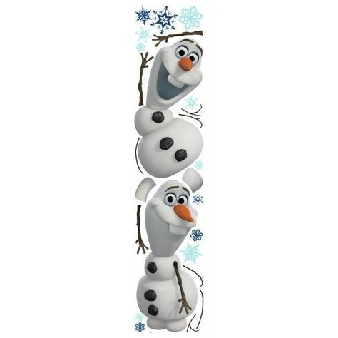 Frozen Olaf the Snow Man Wall Decals