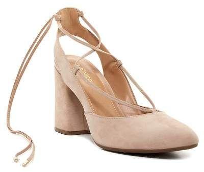 54d282d4b6b Schutz Cruz Lace-Up Suede Block Heel Sandals