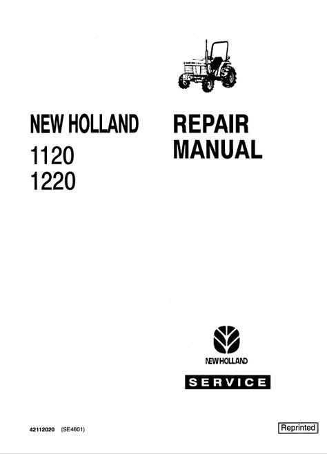Mini Tractor Service Manual In File