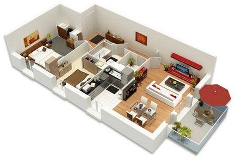 Résultat de recherche dimages pour plans de petits appartement duplex en3d plan de maison pinterest appartement duplex petits appartements et