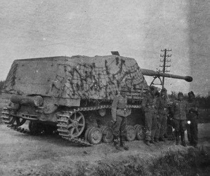 Tamiya 1:35 WWII Dt Hornisse - 35335 Panzerjäger Nashorn