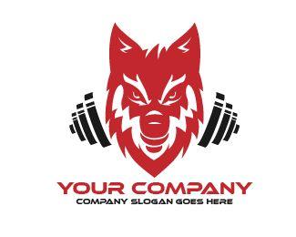 Logo Wolf Fitness Logo Design Logo Wolf Fitness Price 120 00
