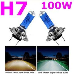 Jxjstb 2 Stucke H7 Lo 6000 Karat Xenon Gas Halogen Scheinwerfer Weisses Licht Lampe 100 Watt 12 V Wili Halogen Headlights Lamp Light Lamp Bulb