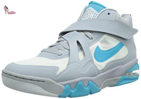 new concept 919b4 0e46b Nike Nike Air Force Max CB 2, Chaussures homme - gris - gris - Grau (Grau   Weiß  Blau), 42 EU - Chaussures nike (Partner-Link)