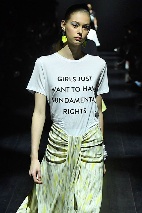 11/12 Feminism and women's rights is a huge zeitgeist right now. After Trump was elected president, many graphic tees with feminist slogans began trending. -Hayley S.