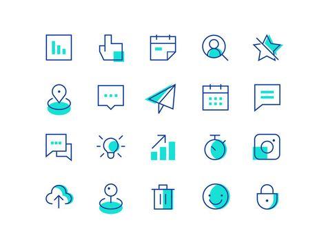 Icon Set Design - Iconography