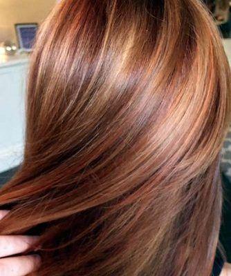Light Brown Hair Styles Long Straight Reddish In 2020 Light