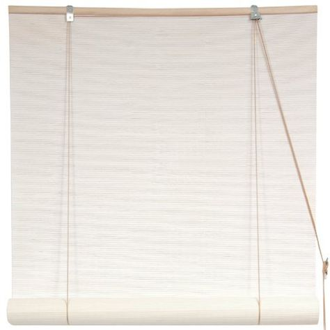 Bamboo Blinds Width: 36 by ORIENTAL FURNITURE. $36.00. Ships Next Business Day from Massachusetts Via Fed Ex - Expedited Deliv. Available; Designed to Overhang Window Opening - Mount on 2 Hooks to Cover Window & Window Frame; Choose 2, 3, 4, 5, or 6 Feet Wide - Opens Up to Six Feet Long - Easy Mount Design; Reliable Retractable Roll Up Hardware - White Painted Natural Matchstick; Browse Our Selection of 30+ Bamboo Roll Up Window Blind Designs on Amazon.com. Bamboo match...
