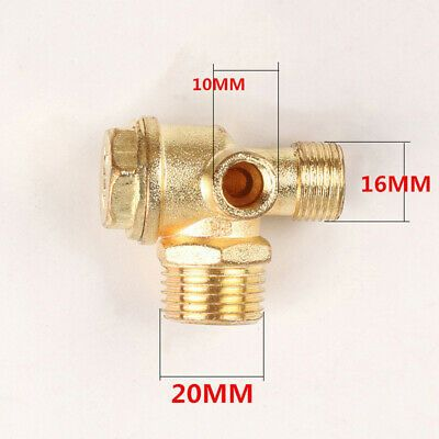 Air Compressor Check Valve Zinc Alloy Valves Thread High Quality 20mm 16mm In 2020 Air Compressor Air Compressor Regulator Air Compressor Filter