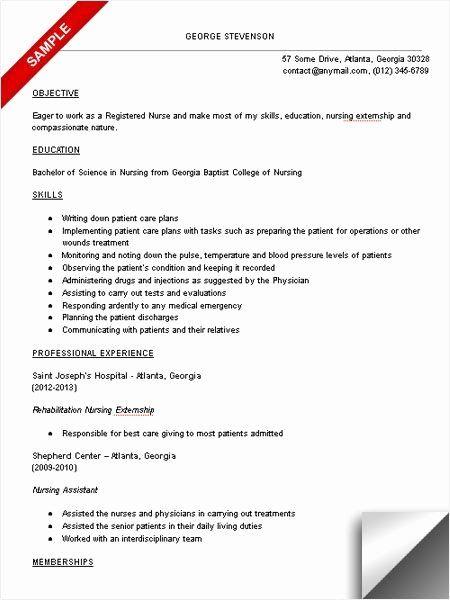 Nursing Clinical Experience Resume Lovely Nursing Student Resume Clinical Experience Google Search In 2020 Student Resume Template Nursing Resume Student Nurse Resume