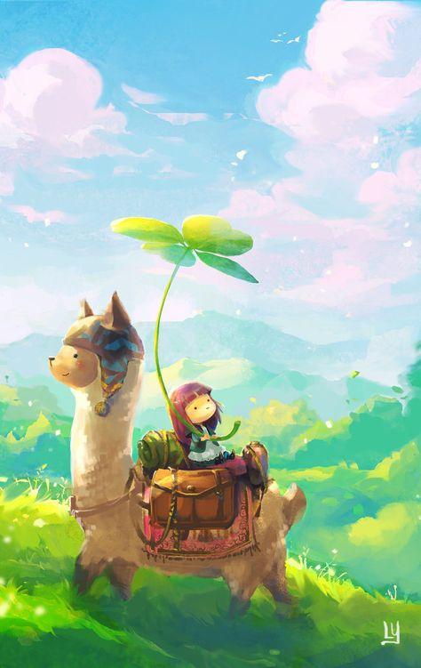 Alpaca by chibi-oneechan on DeviantArt