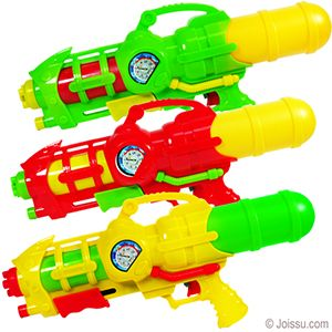 16 5 Pump Water Guns Pump The Slider In The Front To Build Up Pressure The More You Pump The Farther The Water Shoots Assorted Color Wholesale Party Supplies Wholesale Toys Inflatable
