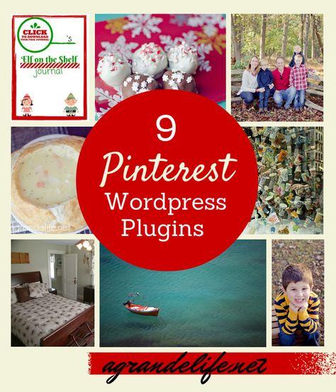 9 Pinterest Wordpress Plugins