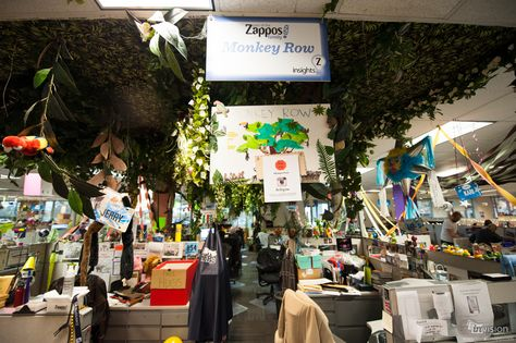 What a mad place to work! http://blog.invisionapp.com/designspace-zappos-donny-guy/?inv_post_id=497#Legendary