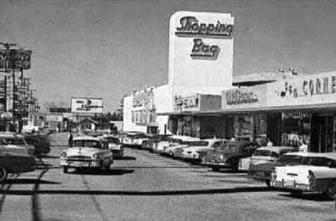 Sunland CA. From the cars visible, circa 1957.