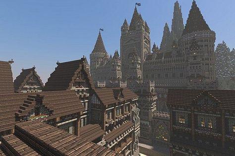 Windhelm Minecraft Google Search Minecraft Fantasy World Architecture