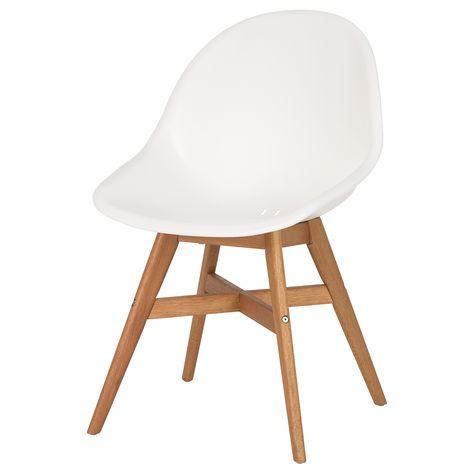 Comfortabele Eetkamer Armstoelen.Fanbyn Eetkamerstoel Wit Eetkamerstoelen Ikea Eetkamerstoelen