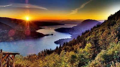 19 Gambar Pemandangan Sore Hari Di Pegunungan 10 Negara Dengan Pemandangan Matahari Terbenam Terindah Download Di 2020 Fotografi Alam Pemandangan Matahari Terbenam