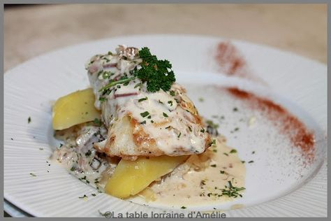 La Table Lorraine D Amelie Filet De Sandre A La Lorraine Filet