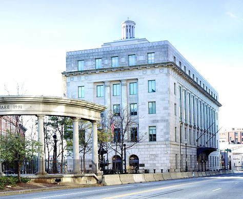Harold D. Donohue Federal Building, Worcester, MA. As Worcester expanded in the twentieth century, it needed a courthouse, federal office space and a larger post office. In 1930 the 1897 post office was demolished and the site utilized for the current building.