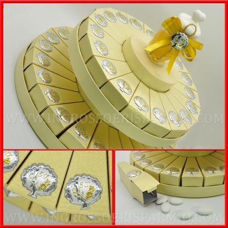 Torte Di Bomboniere Nozze D Oro 50 Idee Anniversario Matrimonio Online Nozze D Oro Bomboniere Anniversario
