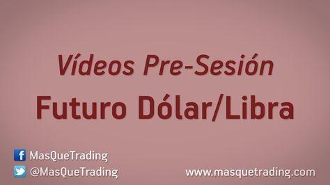 Vídeo análisis pre-sesión del Futuro Dólar-Libra (6B) día 5-1-2016 http://www.masquetrading.com/mercado/Dolar_Libra.html Comentarios y consultas a info@masquetrading.com